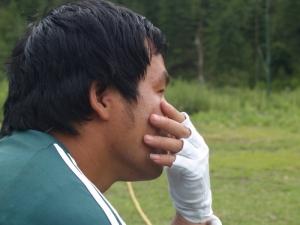 Anxious BT's Captain Dorji