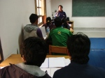 Theory Class conducted by Dorji
