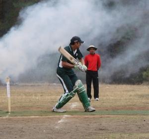 DS gurung smashed 65 runs in 26 balls