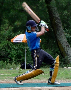 Susil's classic cover drive