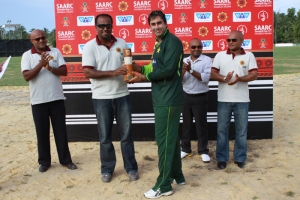 Nasir Jamshaid was adjudged man of the match.